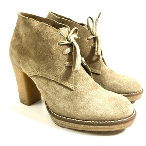 J Crew MacAlister High Heel Ankle Boots